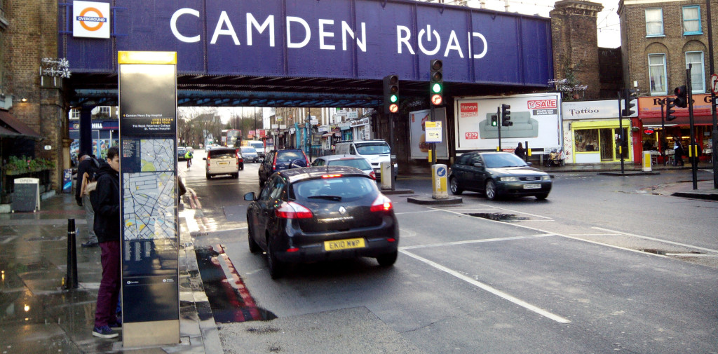 Camden Road was designed by highway  engineers to serve the needs of vehicles