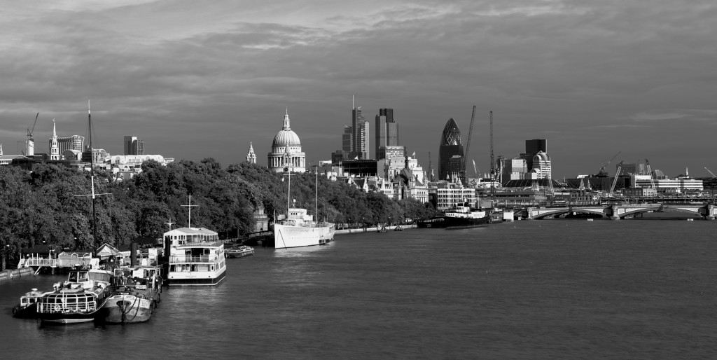 The City of London enjoys a landscape which is both classical and modern (image courtesy Nicolas de Camaret)