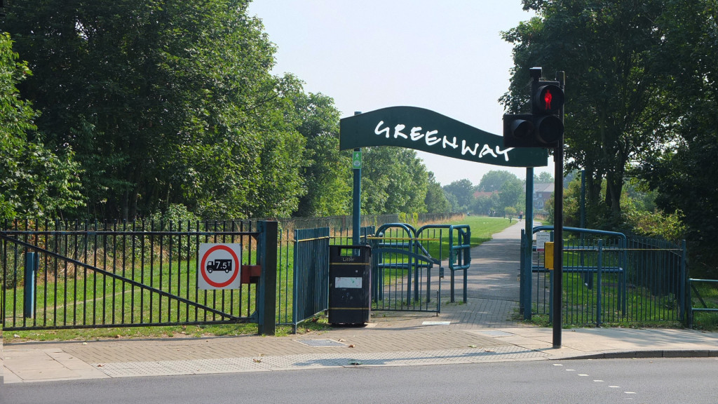 Newham's 'Greenway' began life as the Sewerbank aka Northern Outfall Sewer Walk.