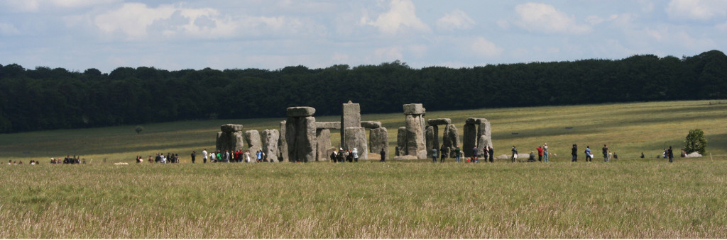 Stonehenge (see plan, below) is the oldest major example of landscape architecture in the British Isles