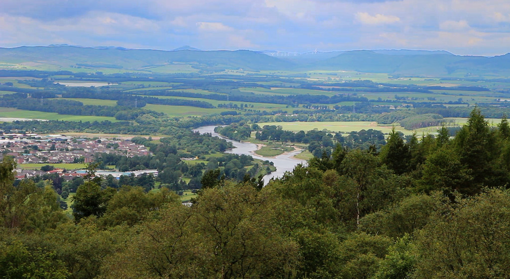 Geddes' view from Kinnoull Hill