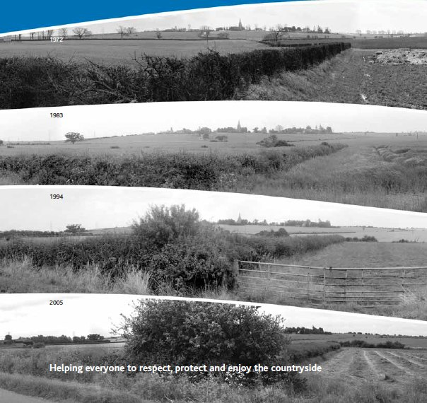 Agricultural landscapes- 33 years of change
