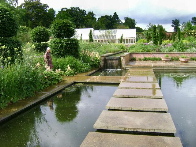 Broughton Grange. The garden was designed by Tom Stuart Smith. Like many famous garden designers, Tom was educated in landscape architecture.