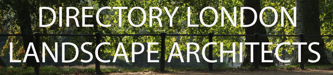 London landscape architects directory