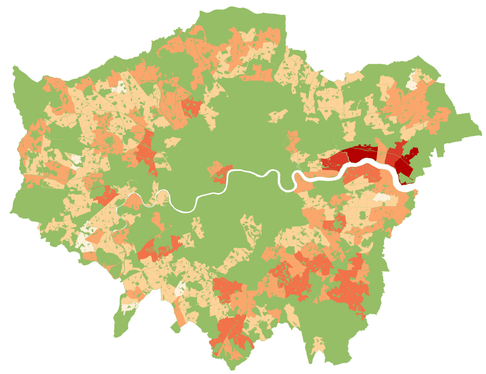 densification potential of London