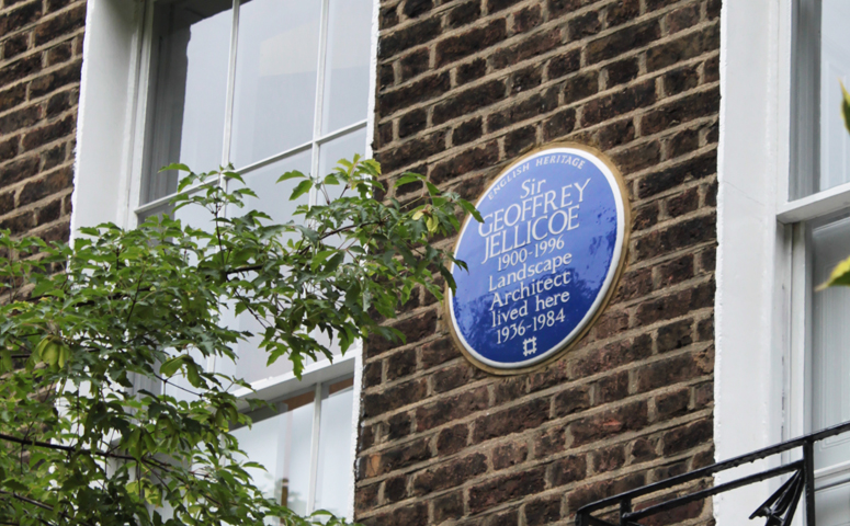 English Heritage must be thanked for placing a blue plaque outside Jellicoe's home - but it is a pity they did not put Susan Jellicoe's name on the same plaque, as her family requested