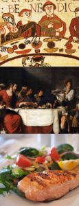 The products of Medieval, Renaissance and Modernist theories of cookingb