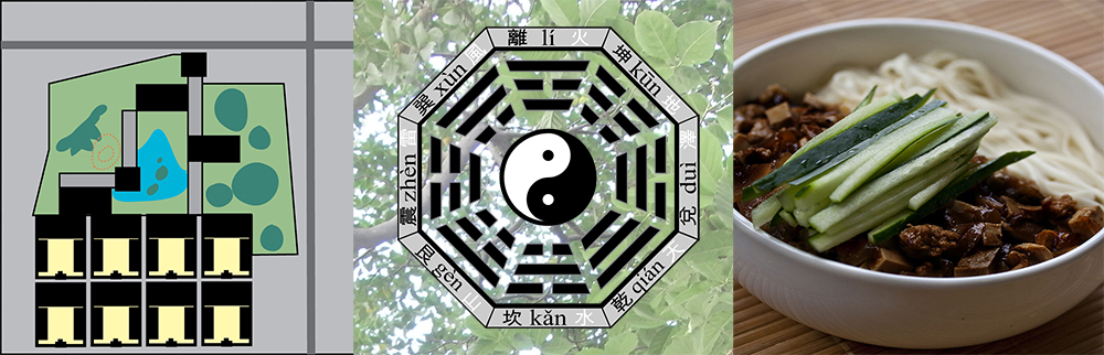 Daoist theory influenced garden design and cooking