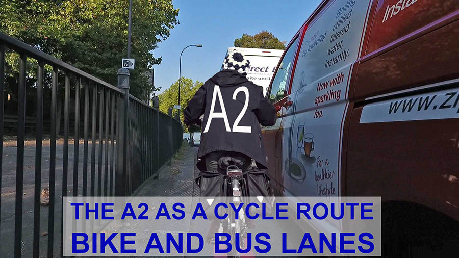A2 as a route for cyclists