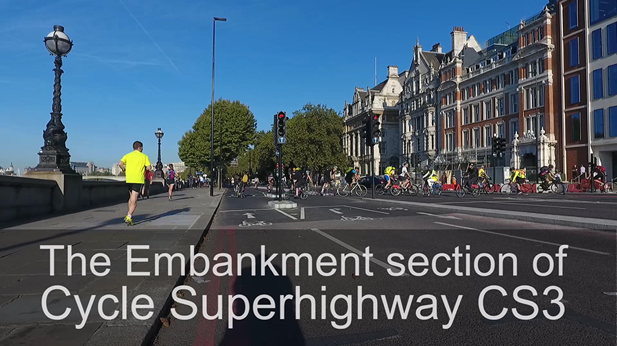 CS3 East-West Cycle Superhighway 3