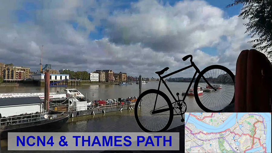 The Thames Path and NCN4