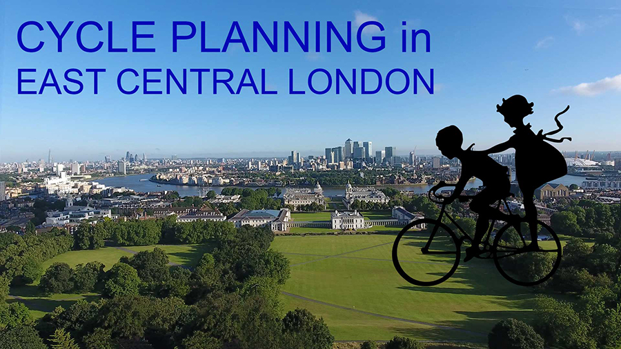 planning for leisure cycling in East Central London