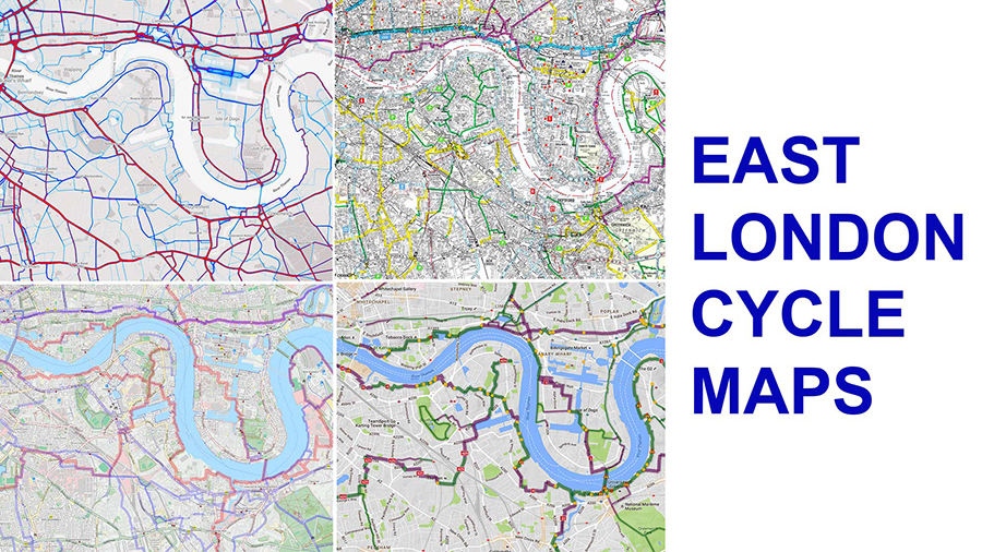 East London cycle maps