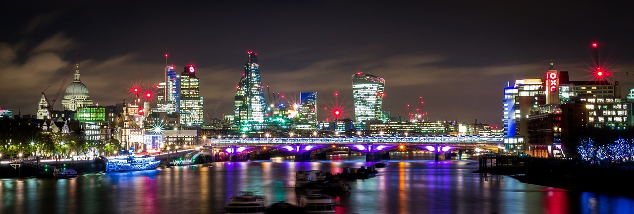City of London skyline landscape