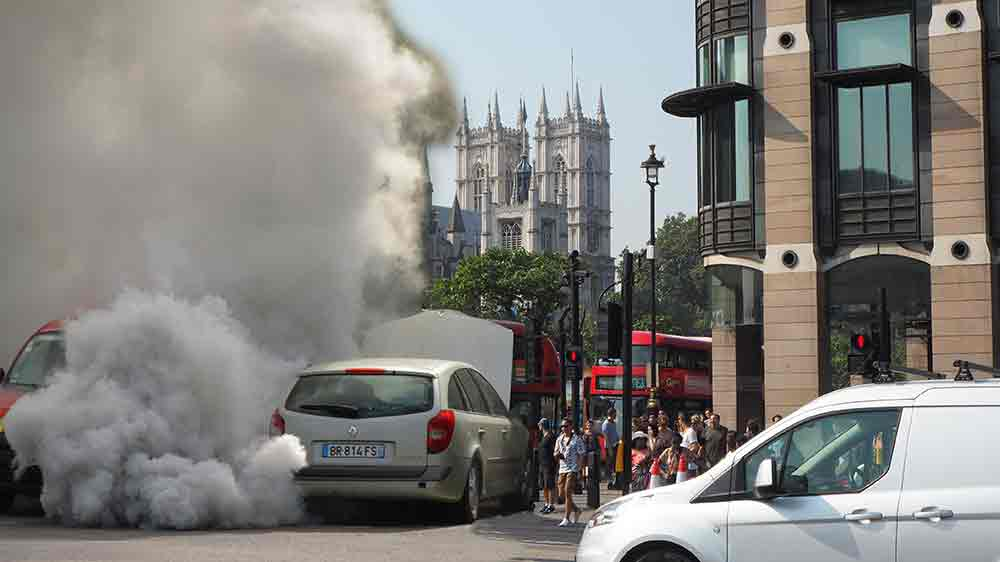 solve London's air pollution problem