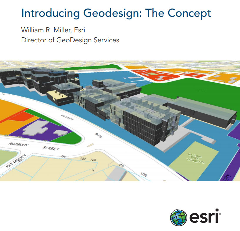 Esri origins of geodesign landscape architects laa for Gis for landscape architects