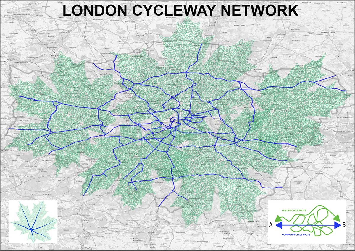 London Commuter & Leisure Cycleway Network LCLCN